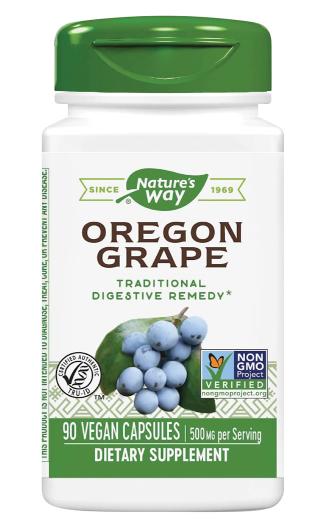 Oregon Grape Root, 500 mg, 90 Vegetarian Capsules